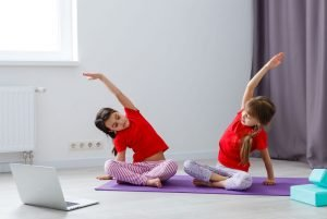 workout per bambini in dad
